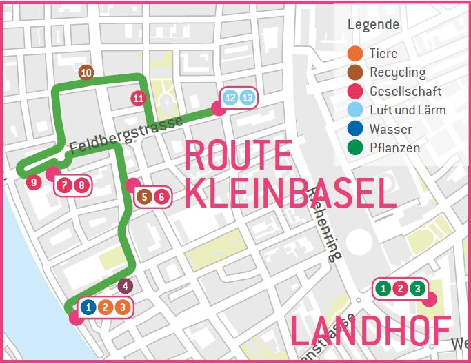 Samstags-Route Kleinbasel